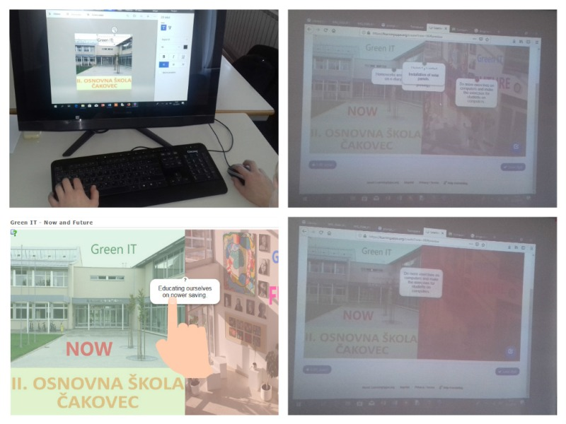 eTwinning project Transformation To Green IT